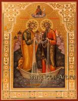 Святой апостол Петр и святой апостол Андрей
