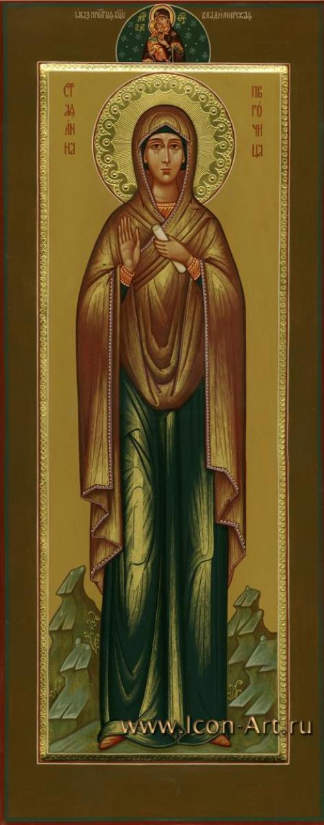 покровители анна пророчица:
