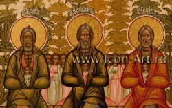 Образ святых праотец. Святой Авраам, святок Исаак и святой Иаков