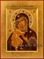 Икона Пресвятой Богородицы «Феодоровская»