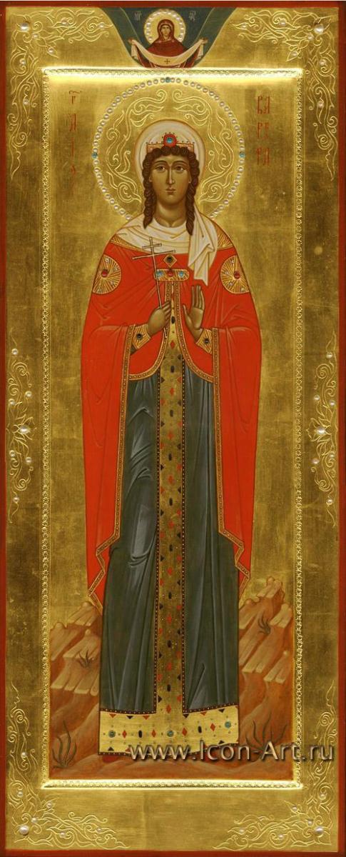вмц. Варвара Илиопольская. Икона ...: www.icon-art.ru/icons/info/240/Svjataja_vmc._Varvara_Iliopolskaja.html