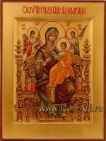Икона Пресвятой Богородицы «Всецарица»