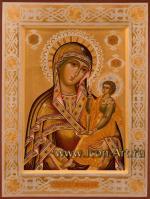 Икона Пресвятой Богородицы «Смоленская-Шуйская»