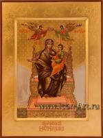 Икона Пресвятой Богородицы «Домостроительница»