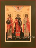 Святые мученики Гурий, Самон и Авив
