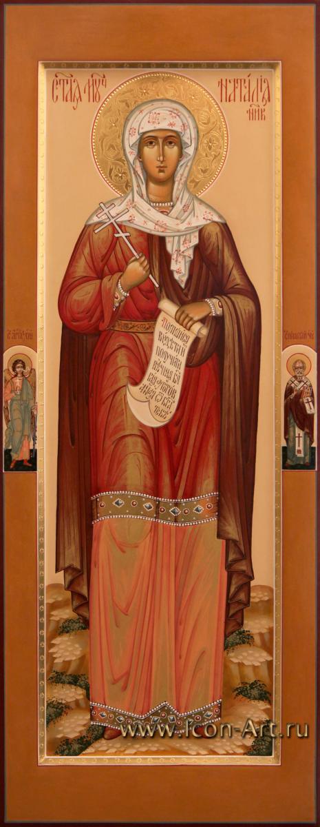 к чудотворной иконе святой