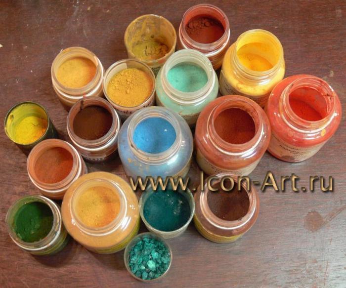 Натуральные краски своими руками