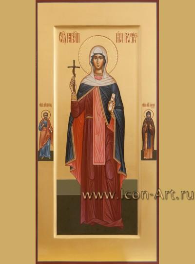 Рукописная мерная икона святой равноапостольной Нины Грузинской