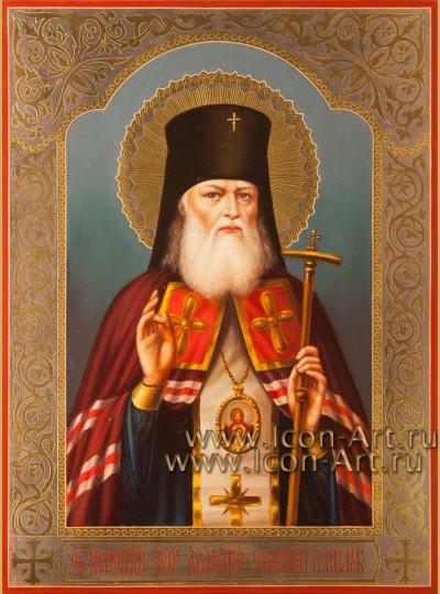 Рукописная Икона святителя Луки Крымского