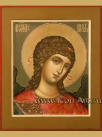 Рукописная Икона святого Архангела Михаила 17*21см