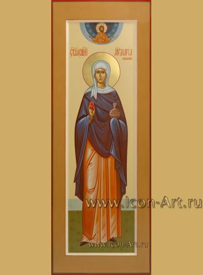 Рукописная мерная Икона Святой Марии Магдалины