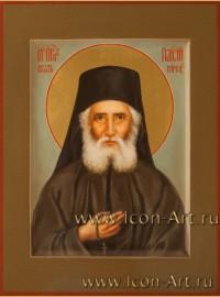Рукописная Икона святого Паисия Святогорца 15*20см