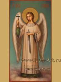 Рукописная Икона святого Ангела Хранителя 17*33