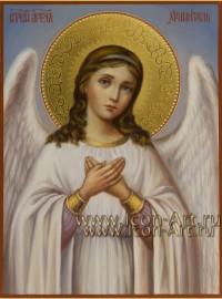 Рукописная Икона святого Ангела Хранителя 15*20