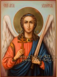 Рукописная Икона святого Ангела Хранителя 21*28см