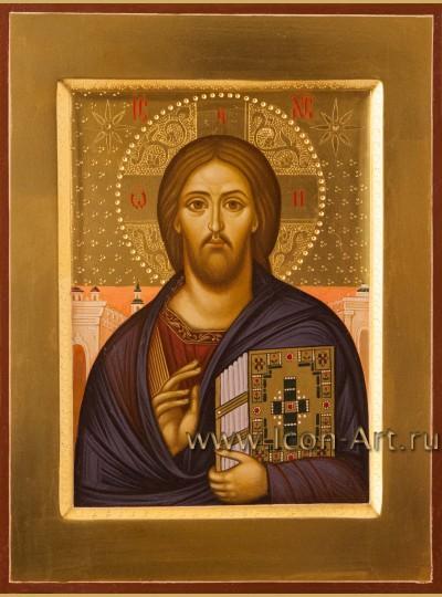 Рукописная Икона Спасителя 15*20см