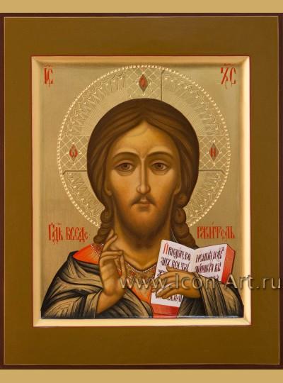 Рукописная Икона Спасителя 17*21см