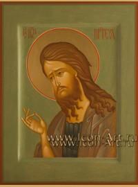 Рукописная Икона Святого Иоанна Предтечи 15*20см