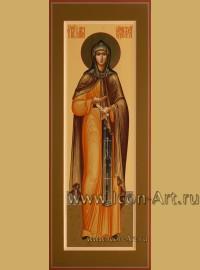 Рукописная мерная Икона святой Марии Радонежской