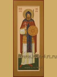 Рукописная мерная Икона святого Ильи Муромца (Муромского)