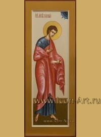 Рукописная мерная Икона святого апостола Фомы