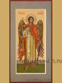 Рукописная Икона святого Ангела Хранителя 17*33см