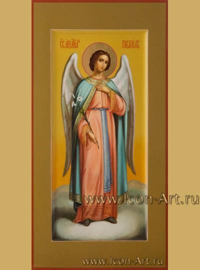 Рукописная Икона святого Архангела Гавриила 17*33см
