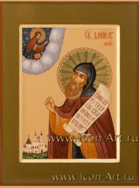 Рукописная Икона Святого Даниила Московского 21*28см