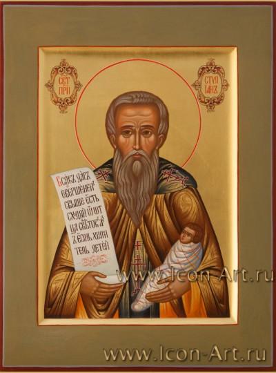 Рукописная Икона святого Стилиана  21*28см