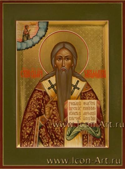 Рукописная Икона святого Харлампия 15*21см