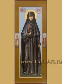Рукописная мерная Икона святой преподобной Серафимы Горшковой