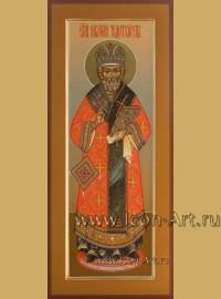 Рукописная мерная Икона святителя Николая Чудотворца